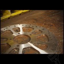 ebc front stainless steel rotor fits triumph bonneville w cast