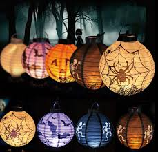 mysterious handmade halloween lights to make your halloween party