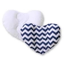 cale tete pour siege auto cale tête bébé pour siège auto zigzag bleu marine achat vente