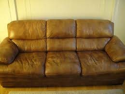 Leather Patches For Sofas Leather Sofa Chair U0026 Ottoman For Sale Carroll Gardens Ny Patch