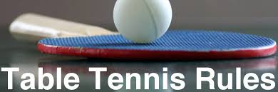 10 rules of table tennis table tennis rules of play table tennis rules