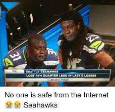 Seahawks Lose Meme - seattle seahawks lost 4th quarter lead in last 5 losses oled 23 14
