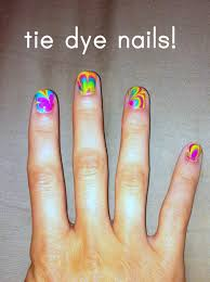 c r a f t 82 tie dye nails nail design marble nails