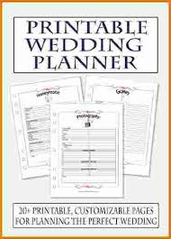 wedding planner book free free printable wedding planner book world of template format