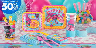 birthday party supplies trolls party supplies trolls birthday party party city