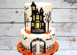 halloween fondant cakes video tutorials my cake
