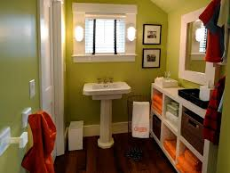 orange bathroom ideas 12 stylish bathroom designs for hgtv