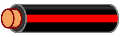 file wire black stripe svg wikimedia commons