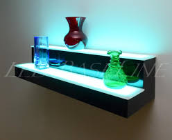 wall shelves design amazing lighted wall shelves for home decor