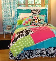 bedroom tween zebra bedroom idea with blue zebra bedding set