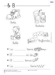 imagenes para colorear y escribir oraciones santillana lectoescritura
