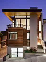 home exterior design sites contemporary house design with cozy interior on sloping site