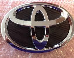 logo de toyota emblema logo delantero toyota corolla 2009 2010 2011 2012 bs