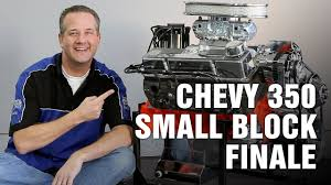 how to complete rebuild chevy 350 small block engine motorz 69
