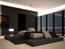 exciting modern master bedroom decorating ideas decoration by wall