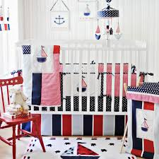 popular nautical nursery bedding design ideas with brand new baby