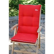 High Back Patio Chair Cushion High Back Patio Chair Cushions Set Of 4 Patio Furniture
