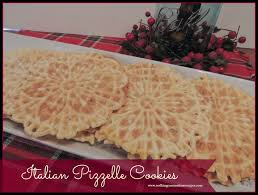 recipe italian pizzelle cookies a holiday tradition walking