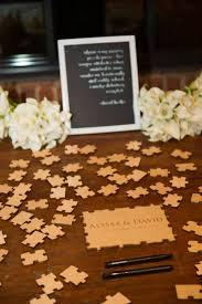 Unique Wedding Guest Book Best 25 Puzzle Wedding Ideas On Pinterest Unique Wedding