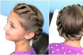 Schnelle Hochsteckfrisurenen F Locken by 21 Schnelle Kinder Frisuren Für Sehr Beschäftigte Eltern