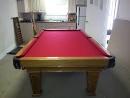 bce churchill light oak snooker pocket table recently recovered in