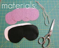 the red kitchen eye mask free pattern u0026 tutorial