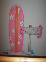 childrens painted wall murals cathie s murals childrens murals beach daisy surfboard and signpost with
