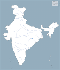 India River Map by India Free Map Free Blank Map Free Outline Map Free Base Map