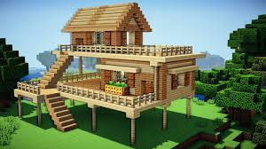 building a house minecraft starter house tutorial how to build a house in