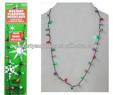christmas light necklace light up christmas bulb necklace buy christmas light