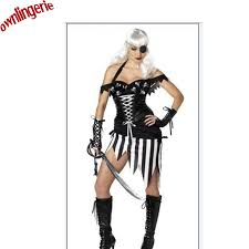 Black White Striped Halloween Costume Dress Rags Promotion Shop Promotional Dress Rags Aliexpress
