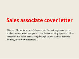Sample Of A Sales Resume by Sales Associate Cover Letter 1 638 Jpg Cb U003d1393201590