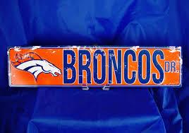 Bronco Flag Denver Broncos Nfl Flag Football Reversible Jersey Size