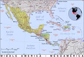 Jfk Terminal 4 Map Map Of Central America And The Caribbean Of Middle