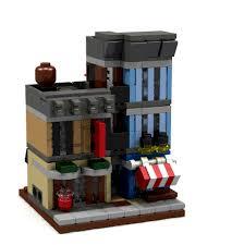 Lego Office Buildings Detective U0027s Office Mini Modular