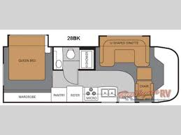 Thor Rv Floor Plans by New 2011 Thor Motor Coach Chateau Citation 28bk Motor Home Class