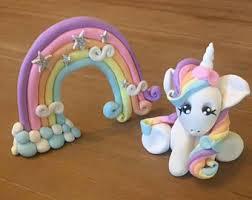 unicorn cake topper handmade unicorn cake etsy