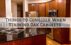how to clean oak cabinets with tsp brush roll painting things to consider when staining oak