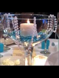 nothing like a giant wine glass centerpiece lauren shower