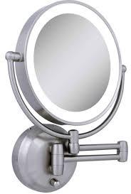 bathroom makeup mirror wall mount lighted makeup mirror wall mount elegant magnifying 10x zadro