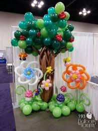 balloon trees for a 1st birthday all out ballooning balloon