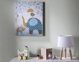 tableau pour chambre d enfant tableau chambre bb garon tableau les animaux 38 x 78 cm