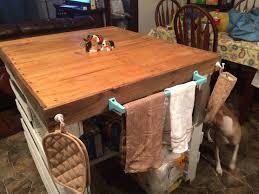 Repurposed Dresser Kitchen Island - rustic yet modern pallet kitchen island repurposed dresser
