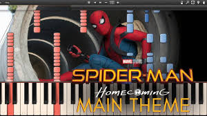 C3 Studios by Spider Man Homecoming Marvel Fanfare Intro Theme Synthesia