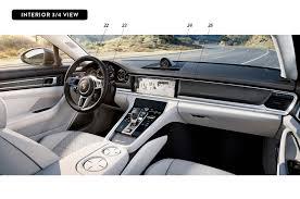 Porsche Panamera Interior - by design 2017 porsche panamera automobile magazine