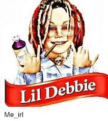 Debbie Meme - lil debbie irl meme on me me