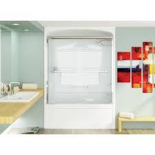 44 Shower Door by Mirolin Bd44 Bypass Shower Door Mystique Silver Home Comfort Centre