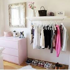 Bedroom Clothes Best 25 Hanging Clothes Racks Ideas On Pinterest Hanging