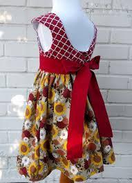 thanksgiving dresses for girls girls dress sunflowers falls dress sunflowers dress birthday