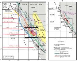 Annadel State Park Map by Evolution Of The Rodgers Creek U2013maacama Right Lateral Fault System